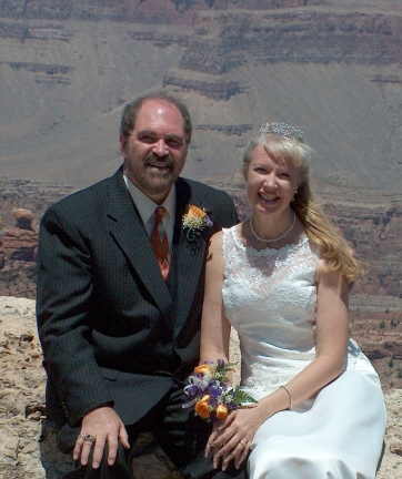 Melinda & Rich's Grand Canyon Wedding