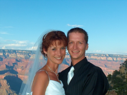 Misti & Gabe's Grand Canyon Wedding